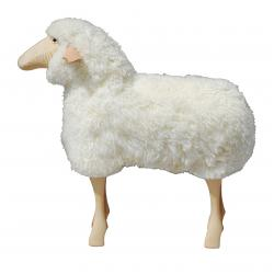 Sheep Outdoor Stool All Natural Wool