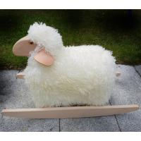 Rocking Sheep Toy - Real wool