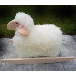 All Natural Rocking Sheep Toy