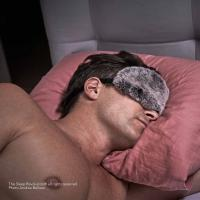Sleep Mask  - Luxury Rex Rabbit