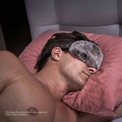Sleep Mask  - Luxury Rex Rabbit