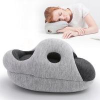 Travel Pillow  Mini -Grey Black