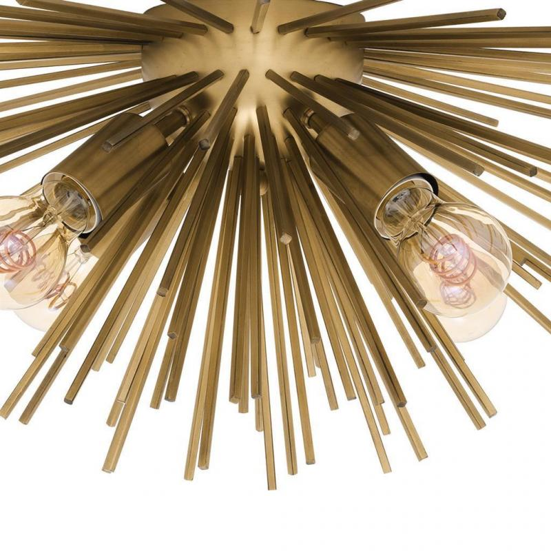 BRASS CEILING LAMP | EICHHOLTZ BOIVIN